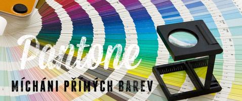 Míchání přímých barev Pantone